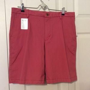 Izod Saltwater Stretch Flat Front Shorts Size 34W